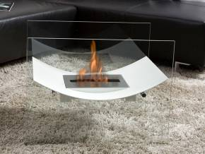Bio-fireplace VENIZ White