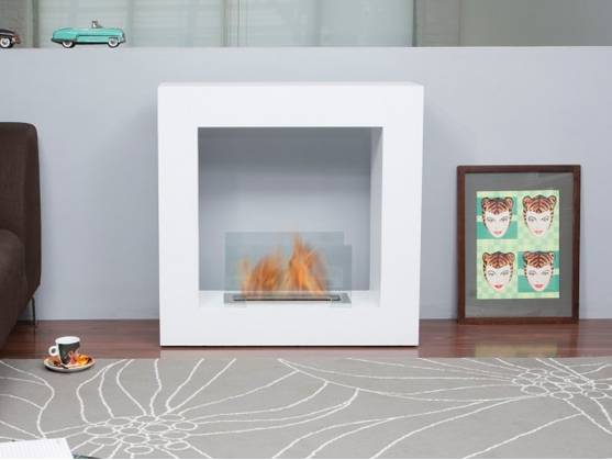 Bio-fireplace MINSK White
