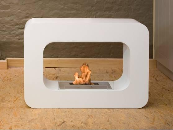 Fireplace ORLANDO White