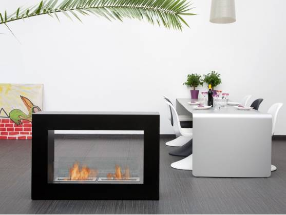 Fireplace MINSK XL Black