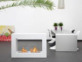 Fireplace MINSK XL White