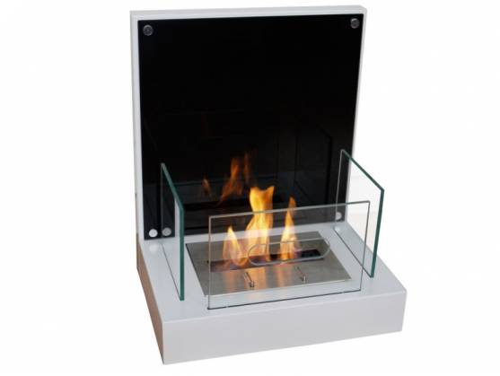 Bio-fireplace VELONA White