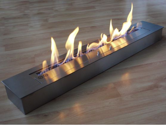 Brûleur FEUER 90 cm Bordure