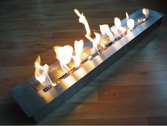 Brûleur FEUER 120 cm Bordure