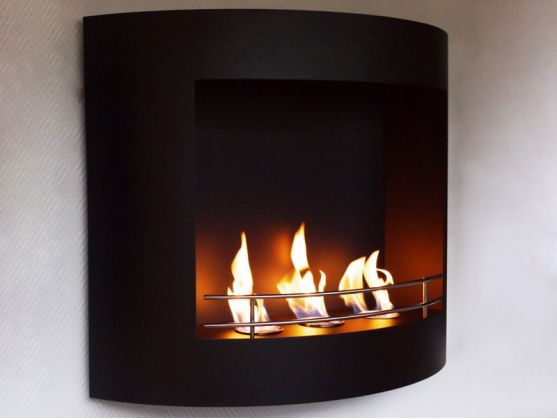 Fireplace FEUER Black