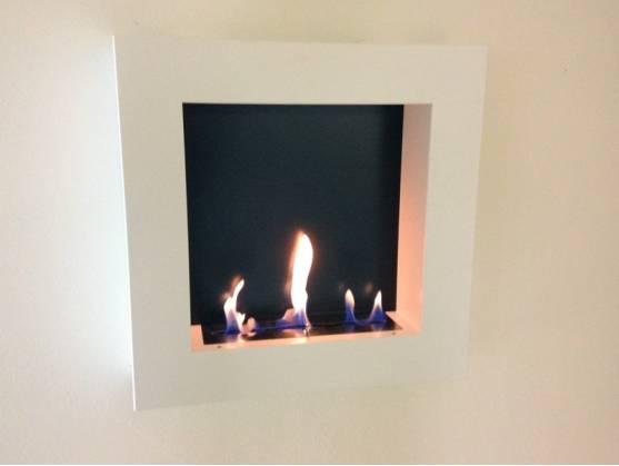 Bio-fireplace QUADRO White