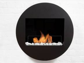 Bio-fireplace ROUND Black