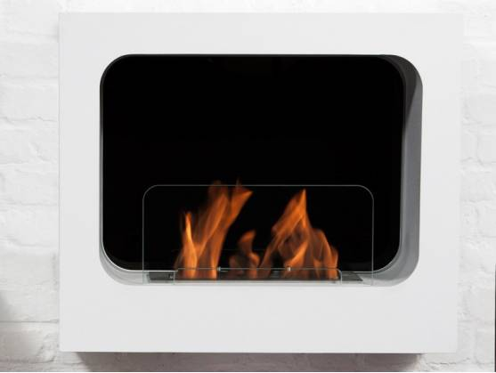 Bio-fireplace COLOMBIA White