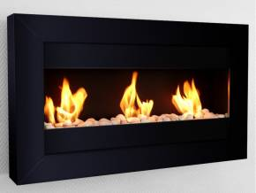 Bio-fireplace OSLO Black